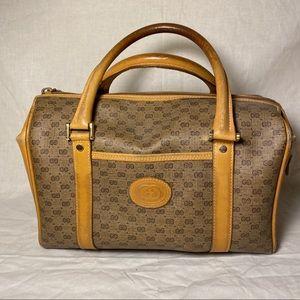 Authentic Vintage Gucci Boston Doctor Bag